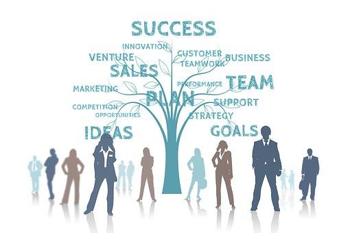 ビジネスを発展させるイメージ